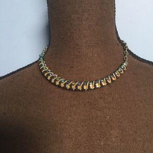 Jewelry - Rhinestone Collar Statement Necklace